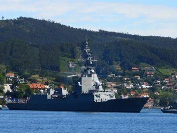 Detectado un brote con 16 positivos asintomáticos entre la dotación de una fragata en Ferrol