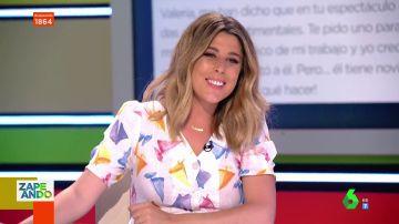 """El consejo de Valeria Ros a un espectador enamorado de su compañero de trabajo con novia: """"Tú lánzate"""""""