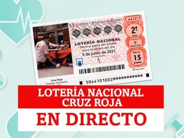 Comprobar Sorteo de Lotería Nacional de la Cruz Roja: resultados de hoy 5 de junio de 2021