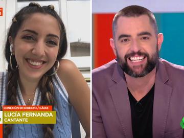 Entrevista a Lucía Fernanda en Zapeando