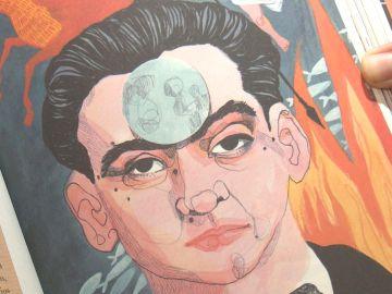 Ilustración de 'Lorca', de Ilu Ros