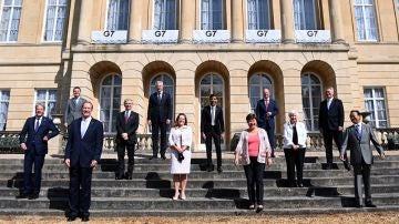 Imagen de los ministros de Finanzas del G7
