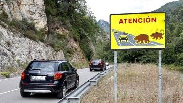 Imagen de archivo de una carretera en Asturias