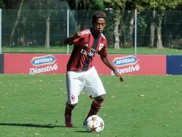 Seid Visin, con el Milan