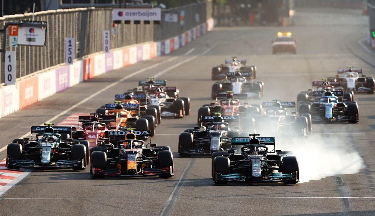 Segunda victoria de Checo Pérez en la F1