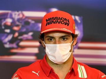 Carlos Sainz en el GP de Azerbaiyán