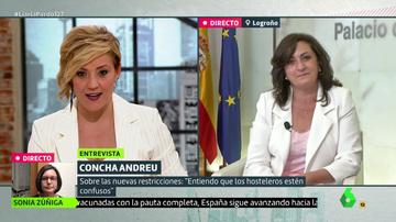 Cristina Pardo y Concha Andreu