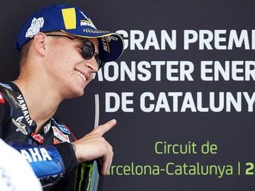 Quartararo, en el GP de Cataluña