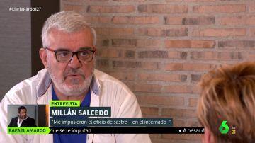 """Millán Salcedo confiesa que Miguel Bosé le sacó de la pobreza: """"De niño no tenía ni ducha"""""""