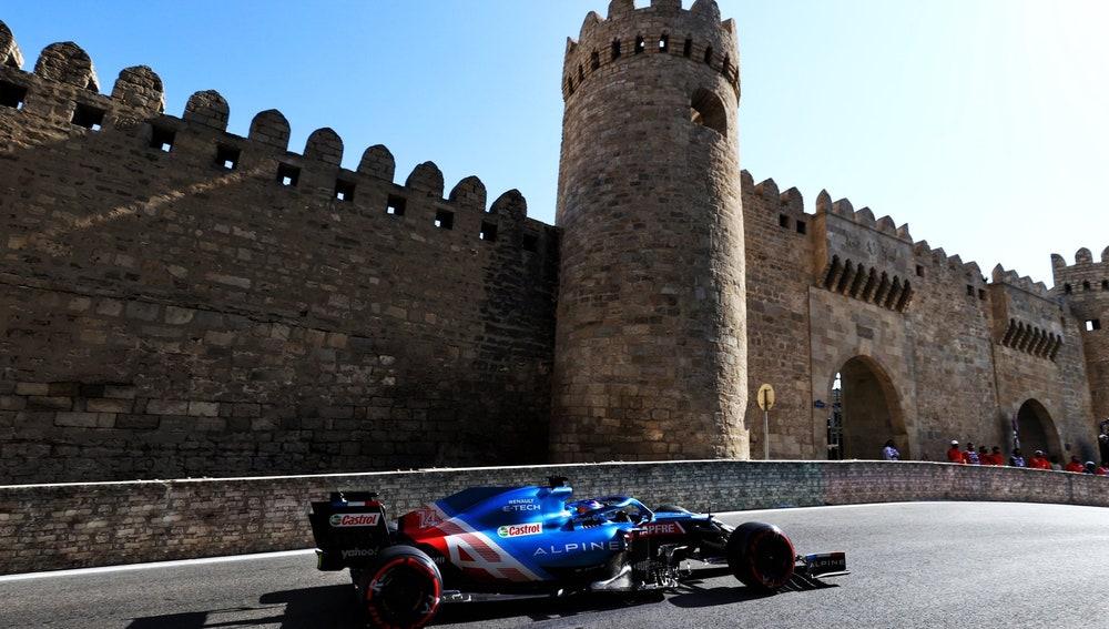 Espectacular final de Fernando Alonso