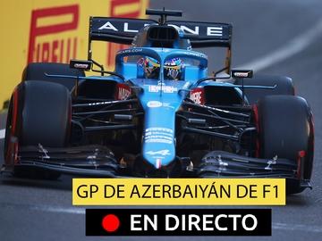 Fernando Alonso en el GP de Azerbaiyán
