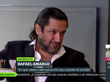 ¿Rafael Amargo piensa en fugarse de España? La sorprendente respuesta del artista