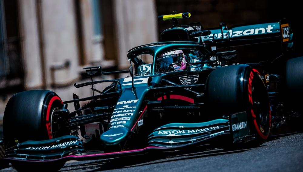Vettel lograba la segunda plaza