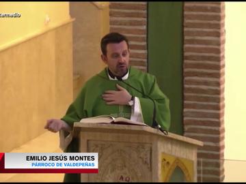 Las polémicas palabras virales del párroco de Valdepeñas sobre el COVID,