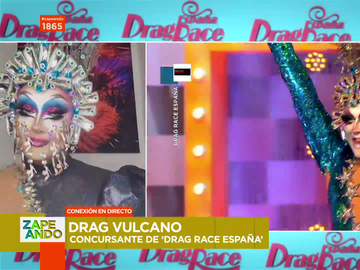 """Drag Vulcano confiesa que le pilló """"en bragas"""" su eliminación de Drag Race: """"Me dolió"""""""