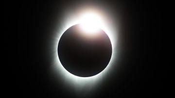 Imagen de un eclipse solar
