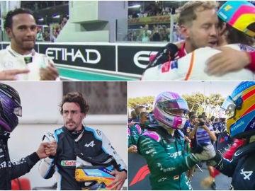 Fernando Alonso, Lewis Hamilton y Sebastian Vettel, los 'viejos rockeros' de la Fórmula 1