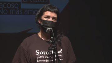 Corte de vídeo de la intervención de Pamela Palenciano