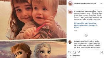 Anna y Olivia, las niñas desaparecidas en Tenerife
