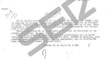 Nota policial a la que ha tenido acceso la Cadena SER