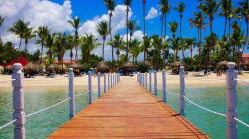 Vista de una playa en República Dominicana