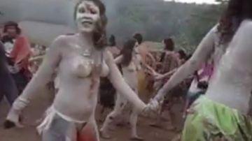 El movimiento 'familia arcoíris' y el coqueteo con las drogas naturales como la ayahuasca