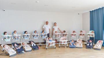 Una pareja tiene 20 hijos en un año por gestación subrogada
