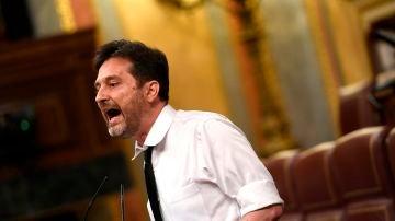 El diputado de Unidas Podemos Rafa Mayoral