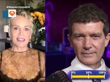 Sharon Stone confiesa cómo consiguió que Antonio Banderas presentara un Oscar