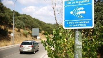Imagen de archivo de un radar en Madrid