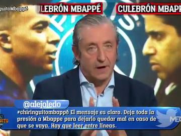 """Pedrerol: """"En el Real Madrid tienen claro que Mbappé no va a renovar"""""""