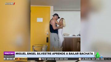 Miguel Ángel Silvestre sorprende con este sensual baile al ritmo de bachata