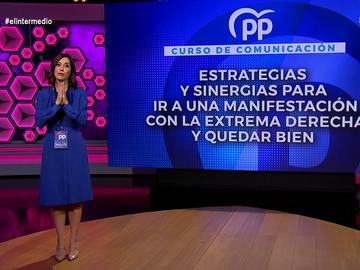 """Cristina Gallego desvela las estrategias del PP """"para ir a una manifestación con la extrema derecha y quedar bien"""""""