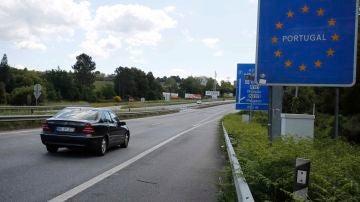 Imagen de archivo de la frontera con Portugal