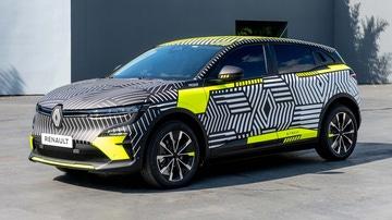 Renault Mégane E-Tech Electric Pre-Producción