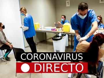 Última hora: Coronavirus en España | Vacuna con AstraZeneca o Pfizer en segunda dosis, hoy