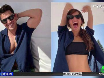 ¿Álex González y María Pedraza están juntos? Las fotos que podrían confirmarlo