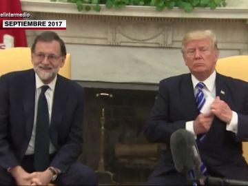 """El """"it's very difficult todo esto"""" de Rajoy y otros surrealistas momentos de los presidentes de España con líderes mundiales"""