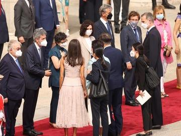 Recepción oficial al presidente de Corea del Sur