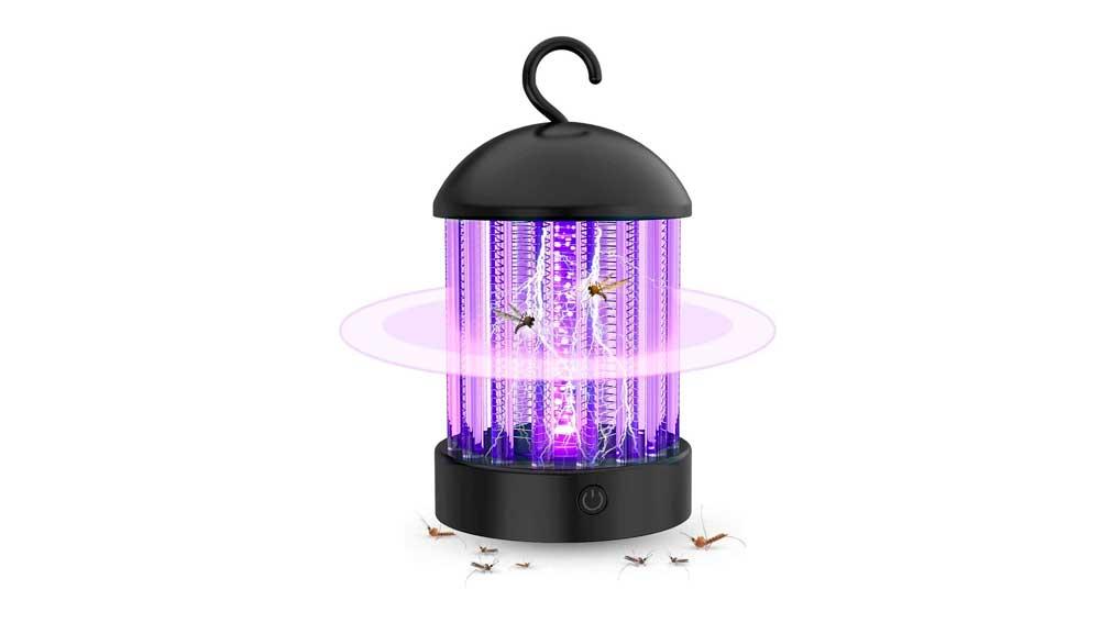 Lámpara ultravioleta con Zapper incorporado