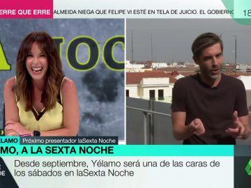 """La respuesta de José Yelamo a la broma de Mamen Mendizábal: """"No se puede ir del after directo a trabajar"""""""