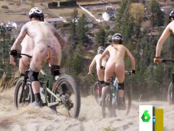 Así es la 'World Naked Bike Ride', la vuelta ciclista en la que los participantes van desnudos