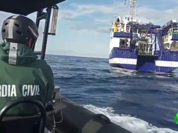 Búsqueda del Ángeles Alvariño en aguas de Tenerife