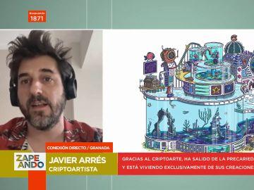 Javier Arrés, así es el pionero del criptoarte en España