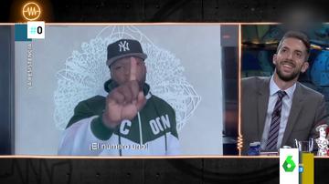 El mensaje con regalo incluido de 50 Cents a Broncano que deja al presentador de La Resistencia sin palabras