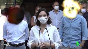 Vídeo manipulado - El momento en el que 'explotan' las cabezas de Casado y Almeida tras las palabras de Ayuso sobre el rey