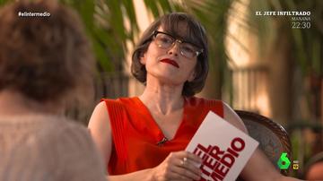 """El poema erótico de Sonsoles Soto que 'calienta' a Thais Villas en El Intermedio: """"Me estoy poniendo"""""""