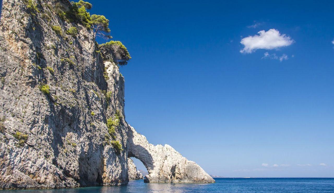 Zakhyntos en el mar Jónico