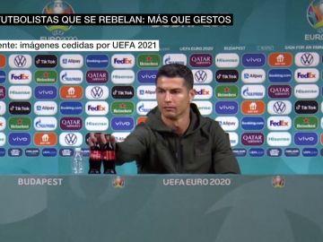 ¿Qué hay detrás del polémico gesto de Cristiano Ronaldo con Coca-Cola?