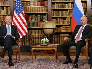 Primer cara a cara entre Biden y Putin en Ginebra